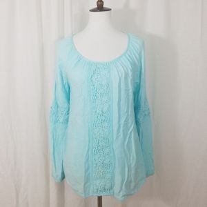 Lilly Pulitzer Embroidered Blouse